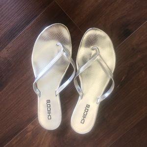 Chico's flip flops